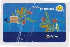 (K70-70) AU $5 Telstra (tatty) used phone card (BT)