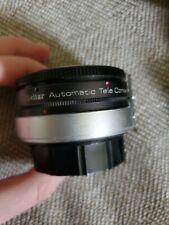 🔥🙂 Vivitar AUTOMATIC Tele converter 2X - 5W/ ORIGINAL CASEgreat condition!!