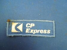 Vintage Canadian Pacific CP Express Blue Sew On Patch