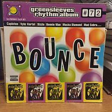 Bounce Greensleeves Rhythm Vol 72 DJ Friendly 2x LP EX Mad Cobra Sizzla 2005