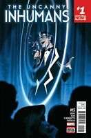 The Uncanny Inhumans #15 Marvel Comic 2016 1st Print Unread NM
