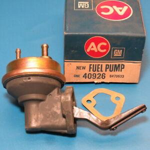 NOS GM AC Fuel Pump 1968-1974 Buick Skylark Regal 350 A/C 40926 6470633
