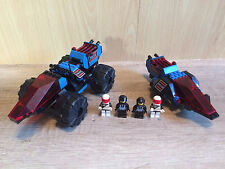 Lego 6895 6886 Space Police Classic Space Spy-Trak I, Peace Keeper, complete