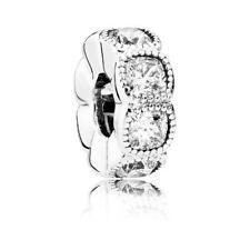 Original Pandora Clip Verführerische Kreise Sterling Silber Bead Charm 792027CZ