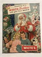 1950's White's Department Store Christmas Catalog-- Great 1950's Toys