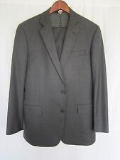 Brooks Brothers Suit 40R 33x31 Harvard Gray Premium Imported 100% Wool
