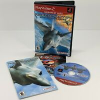Ace Combat 04: Shattered Skies (Sony PlayStation 2 PS2 2001) Cleaned & Tested
