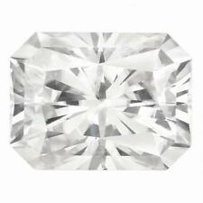 1 Radiant Cut Moissanite Forever Brilliant 10x8mm Diameter 3.90 tcw Loose Stone