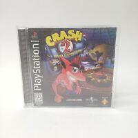 Crash Bandicoot 2 Cortex Strikes Back PS1 Case & Manual Only NO DISC - FAST SHIP