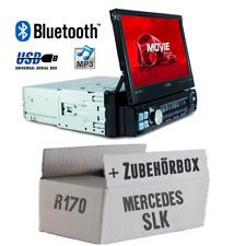 Caliber Autoradio für Mercedes SLK R170 Bluetooth/MP3/USB/SD/7' TFT Einbauset