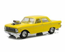 DDA 1965 Ford XP Falcon Sedan Drag With Blown Engine Yellow 1500 Worldwide 1 18