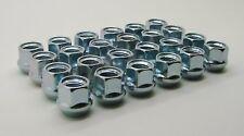 """20 piece Set-Open End Bulge Acorn Lug Nuts 12mm X 1.5 ZINC plated 3/4"""" Hex!"""