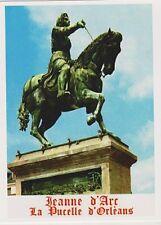 """*Postcard-""""Saint Joan of Arc"""" -STATUE-/Jeanne D'Arc/La Pucelle D'Orleans/ (B513)"""