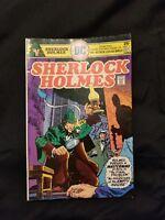 Sherlock holmes comic issue NO.1 32469 DC COMICS. rare in VF condition.