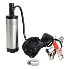 Tauchpumpe 12V 38mm Diesel Öl Wasserpumpe Bootpumpe Transfer Auto KFZ 12L/Min