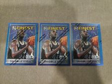 New listing 95-96 Topps Finest #32 Shaquille O'Neal w/ Peel Coating Mint HOF - 3 CARD LOT