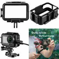 Charging Vertical Frame Housing Shell Case Cover Cage for DJI OSMO Action Camera
