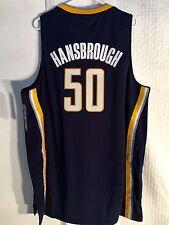 Adidas Swingman NBA Jersey INDIANA Pacers Tyler Hansbrough Navy sz 2X