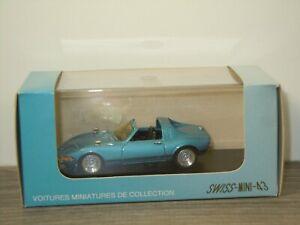 Opel GT Aero - Swiss-Mini-43 1:43 - 1/500pcs - in Box *53491