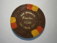 Bob Stupaks 1974 Sinabar $5.00 Casino Chip Las Vegas Nevada #18C-106