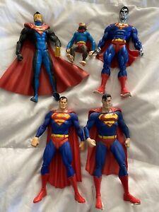 superman action figure lot