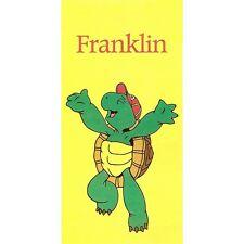 Serviette de plage Drap de bain Franklin la tortue strandtuch beach towel coton