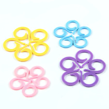 20Pc Portable Colorful Knitting Crochet Locking Stitch Marker Crafts Tool~~