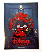 1988 WALT DISNEY Catalog Holidays Mickey and Minnie Mouse