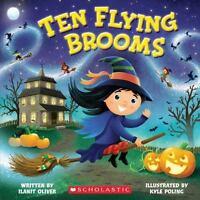 TEN FLYING BROOMS (Brand New Paperback Version) Ilanit Oliver
