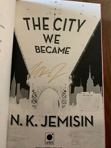 The City We Became, Signed By N.k. Jemisin.first Edition ( Pink Edges)