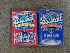 1990 1991 Baseball Playing Cards Sealed Brand new complete mint condition