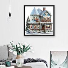 5D DIY Full Drill Diamond Painting Christmas House Cross Stitch Embroidery