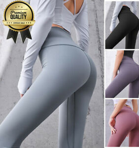 Leggings Yoga Fitness Stretch Hose + TOP Jogging Trainingshose Sporthose Damen