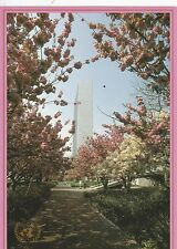 UNITED NATIONS, NEW YORK - CHERRY BLOSSOM PRE-STAMPED COLOUR POSTCARD