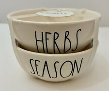 Rae Dunn Spice pinch and dash bowls ..LL herbs season