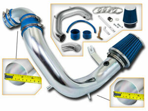 BCP BLUE 03-05 Dodge Neon SRT-4 2.4L Turbo Cold Air Intake System + Filter