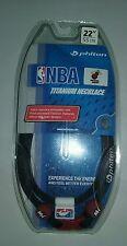 "Phiten NBA Titanium Neclace Miami Heat 22"" New Sealed"