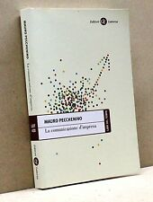 LA COMUNICAZIONE D'IMPRESA - M. Pecchenino [Libro, Libri del tempo Laterza 428]
