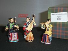 KING AND COUNTRY HK203M STREETS OF OLD HONG KONG CHINESE MUSICAL TRIO FIGURE SET