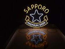 Sapporo Japanese Neon Sign Light & Miller Lite Coors NFL Budweiser Beer Coasters
