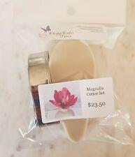 Magnolia Cutter & Veiner Set - DIY Sugar flowers - ChappCakes Decor