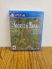 Secret of Mana - Sony PlayStation 4, new and sealed!