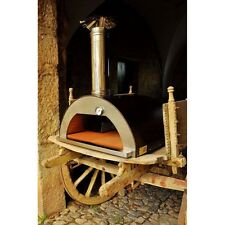 Italian Wood Fired Pizza Oven - Nonno Peppe - Outdoor Pizza Oven from Italy