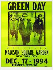 0604 Vintage Music Poster Art - Green day Madison Square Garden 1994