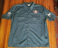 AUTOGRAPHED TEAM RED BULL RACING NASCAR 83 & 84 SHIRT Grey Sz XL CHASE AUTHENTIC