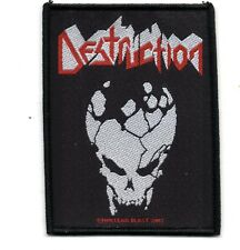 Destruction Skull Metal Patch