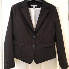 H&M Single Breasted Black Blazer - Size 14