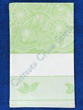 Kitchen Tea Towel To Cross Stitch Bon Apetit Green 45 x 68cm 100% Cotton Jaquard