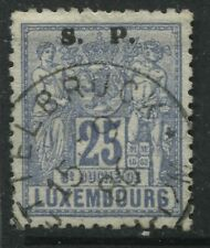 Luxembourg 1882 overprinted Official S.P. 25 centimes used