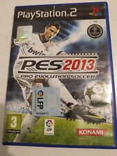 PES 2013 PRO EVOLUTION SOCCER- KONAMI- PS2- Completo